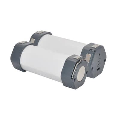 4 in. LED Portable Under Cabinet Task Light (2-Pack)