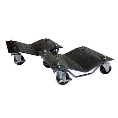 3000 lbs. Capacity Vehicle Dollies with Brakes, (2-Pack)