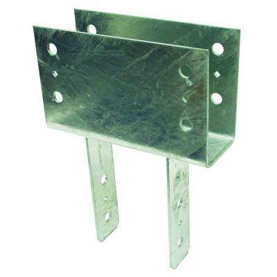CC Hot-Dip Galvanized Column Cap for 4x Beam, 6x Post