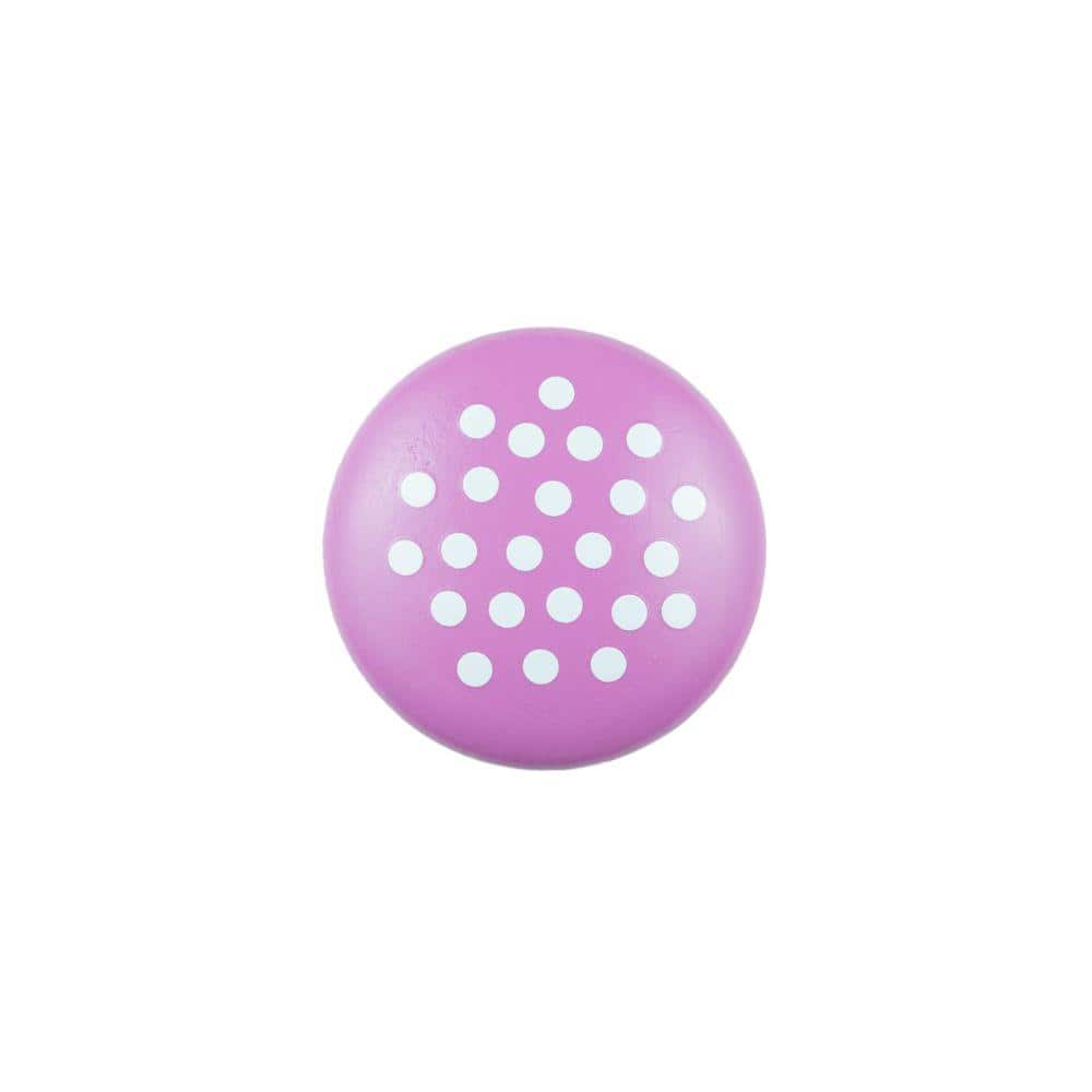 Polka Dots /& Flowers Drawer Knobs  Pulls Yellow Purple and Pink 8