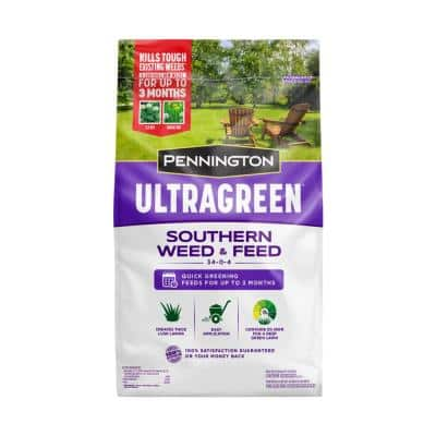 12.5 lbs. Southern Weed and Feed Lawn Fertilizer 34-0-4 5M