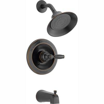 Claymore Single-Handle Tub and Shower Faucet Trim Kit in Oil Rubbed Bronze (Valve Not Included)
