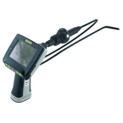 Waterproof Recording Borescope Video Inspection System with 5.5 mm Dia Close-Focus Articulating Camera Probe