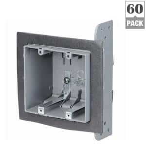 2-Gang 33 cu. in. New Work Airtight Device Box (Case of 60)