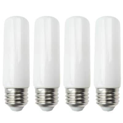 20-Watt Equivalent T10 LED Bulb Halogen Replacement Light Bulb, E26 Medium Base, Dimmable. Soft White (4-Pack)