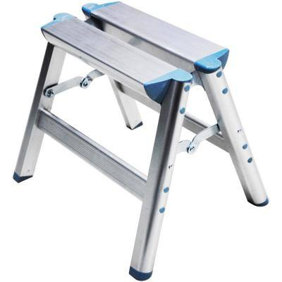 12 in. Aluminum Folding Step Stool OSHA Compliant