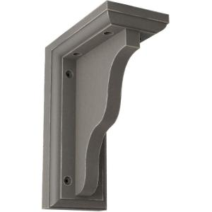 3 in. x 7 in. x 5 in. Reclaimed Grey Hamilton Traditional Wood Vintage Decor Bracket