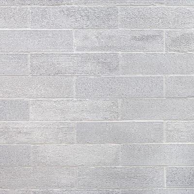 Weston Ridge Light Gray 2 in. x 9 in. 11mm Glazed Clay Subway Wall Tile (33-piece 5.64 sq. ft. / box)