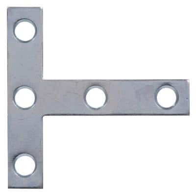 3 x 3 in. T-Zinc Plated Plate (5-Pack)
