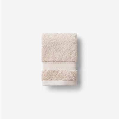 Cotton Cashmere Sand Solid Wash Cloth