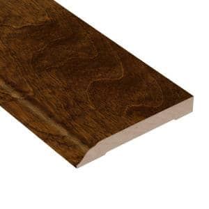 Antique Birch 1/2 in. Thick x 3-1/2 in. Wide x 94 in. Length Wall Base Molding