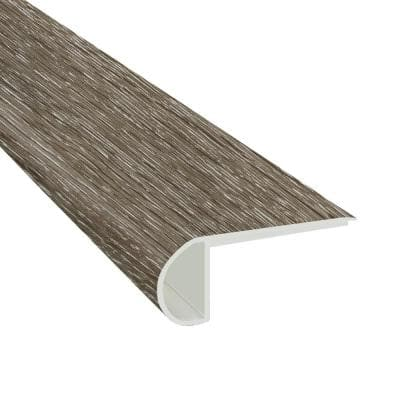 Montage 3/4 in. Thick x 2 3/4 in. Wide x 94 in. Length Luxury Vinyl Flush Stair Nose Molding