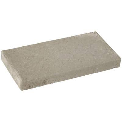 2 in. x 8 in. x 16 in. Concrete Cap Block