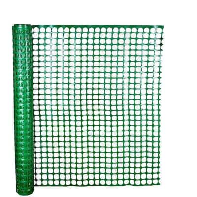 4 ft. x 50 ft. Green Safety Edge Fence