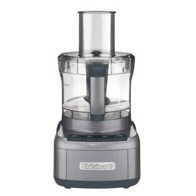 Elemental 8-Cup Gunmetal Food Processor