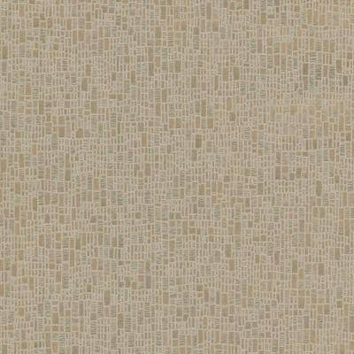 Cella Bronze Geometric Bronze Wallpaper Sample