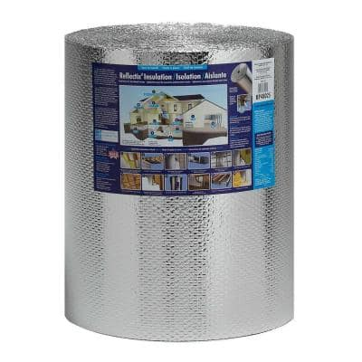 24 in. x 100 ft. Double Reflective Insulation Roll with Staple Tab Edge