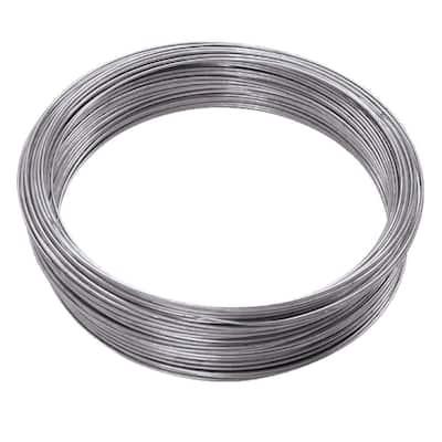 200 ft. 55 lb. 16-Gauge Galvanized Steel Wire
