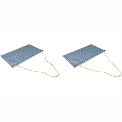 ATV/UTV 5 ft. x 3 ft. Zinc Plated Field Surface Leveling Drag Mat (2-Pack)