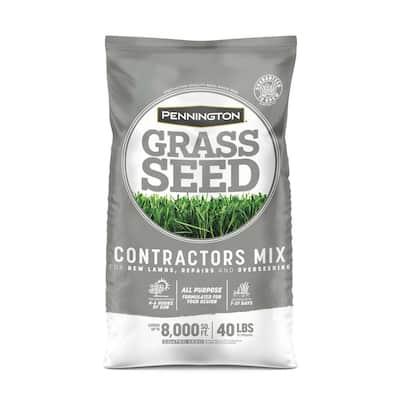 40 lb. Central Contractors Seed Mix