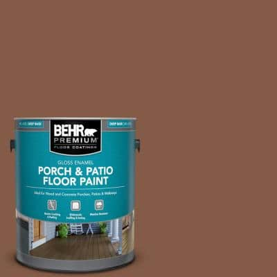 1 gal. #PFC-20 Coronado Gloss Enamel Interior/Exterior Porch and Patio Floor Paint