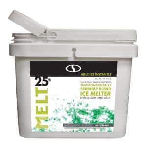 MELT 25 lb. Environmentally-Friendly Blend Ice Melter Bucket