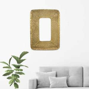 Gold Cobbly Cosmetic Mirror
