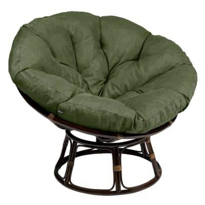 Montlake 52 in. Dia Heather Fern Water-Resistant Outdoor Lounge Papasan Cushion