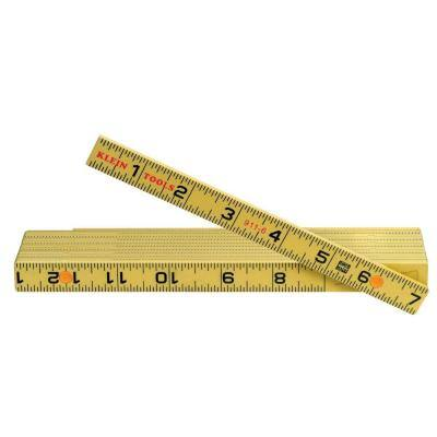 3 X Folding Rules-Measuring Transparent One Size