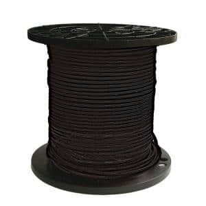 500 ft. 8 Black Stranded CU SIMpull THHN Wire