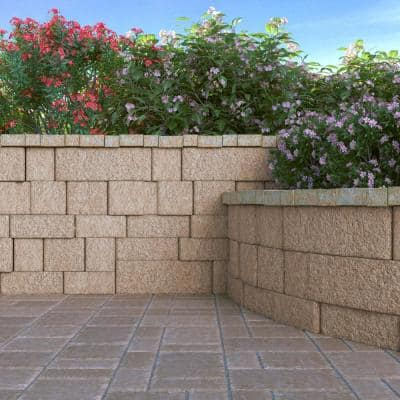 RumbleStone Rec 10.5 in. x 7 in. x 1.75 in. Cafe Concrete Paver (192 Pcs. / 98 Sq. ft. / Pallet)