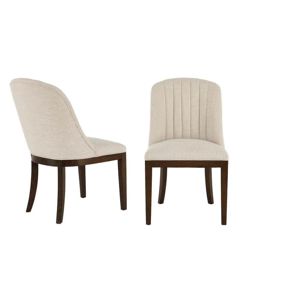 30199EC Set Of 4 BAKER Modern Design Upholstered Dining Room Chairs