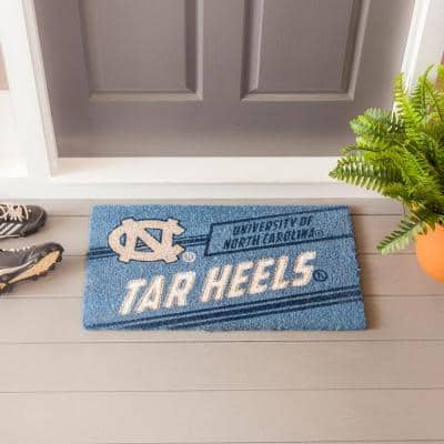 16 in. x 28 in. University of North Carolina Coir Punch Mat
