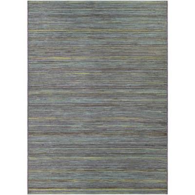 Cape Hinsdale Teal-Cobalt 4 ft. x 6 ft. Indoor/Outdoor Area Rug