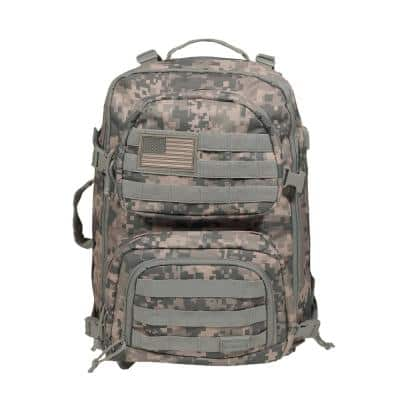 20 in. ACU Camo Military Tactical Laptop Backpack