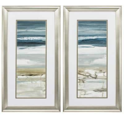 """""""HORIZON S/2"""" Framed Wall Art Nature 27 in. x 15 in."""