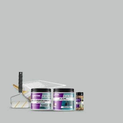 1 pt. Ash Multi-Surface All-In-One Countertop Makeover Refinishing Kit