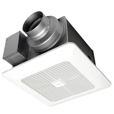WhisperGreen Select Pick-A-Flow 50/80 or 110 CFM Exhaust Fan w/multispeed Flex-Z Fast bracket 4 or 6 in. Duct Adapter