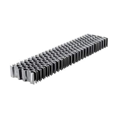3/8 in. Glue Collated Corrugated W Staples (1000-Count)