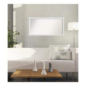 Large Rectangle White Modern Mirror (58 in. H x 30 in. W)