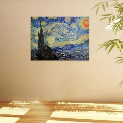 """24 in. x 32 in. """"Starry Night"""" Canvas Wall Art"""