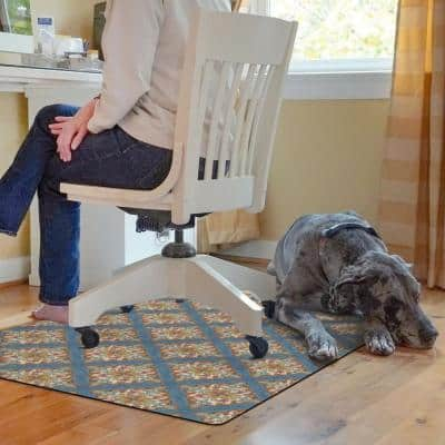 Kantha 3ft. X 4 ft. Desk Chair Mat