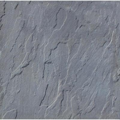 Patio-on-a-Pallet 18 in. x 18 in. Concrete Gray Traditional Yorkstone Paver (64 Pieces/144 Sq Ft)