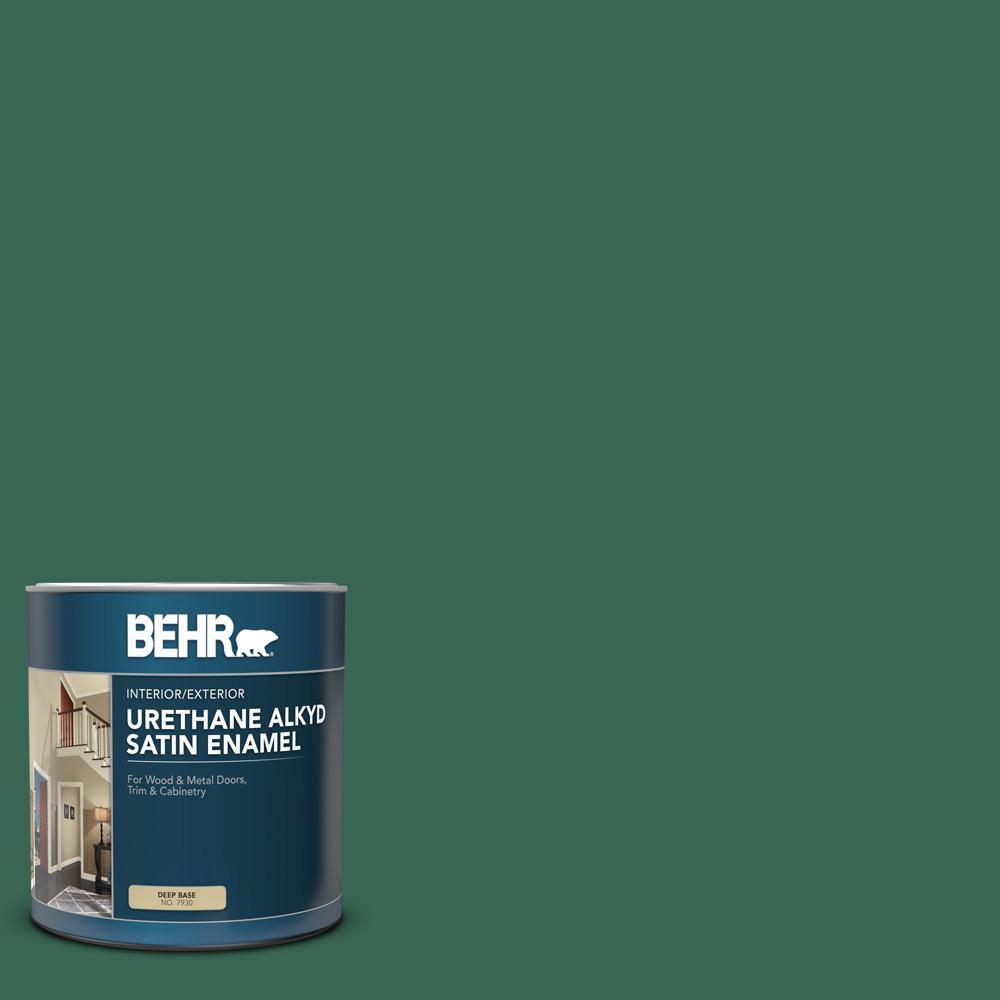 Billiard Green Paint Colors Paint The Home Depot