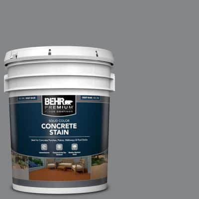 5 gal. #PFC-64 Storm Solid Color Flat Interior/Exterior Concrete Stain