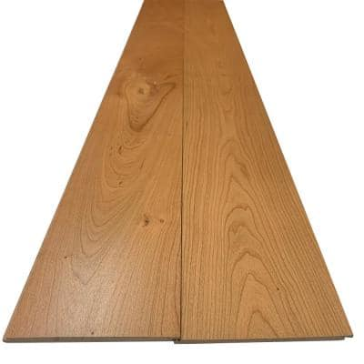 1/4 in. x 5.5 in. x 7.5 ft. UV Prefinished Cherry Shiplap Board (2-Pack)