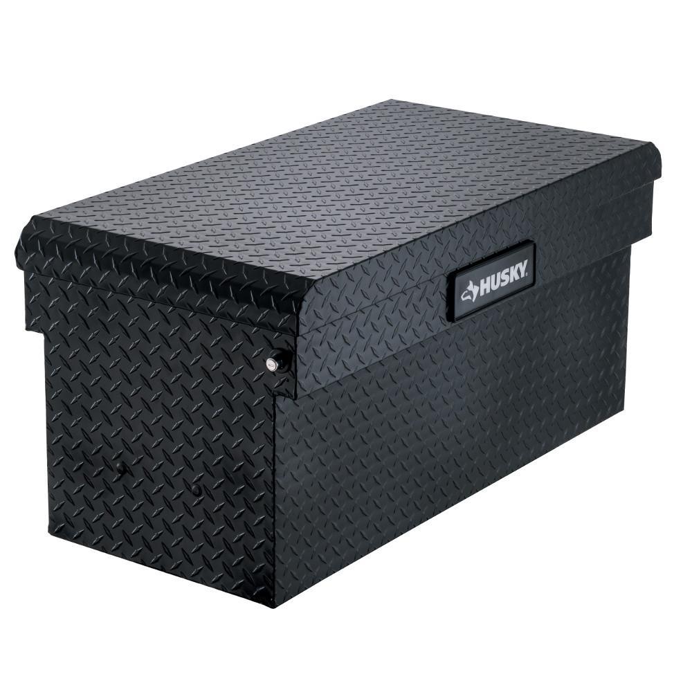 12.12 Matte Black Aluminum Full Size Chest Truck Tool Box