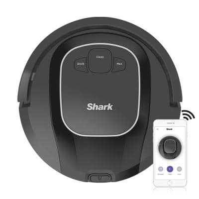 ION Robotic Vacuum Cleaner Wi-Fi Connected, Works with Alexa, Multi-Surface Cleaning