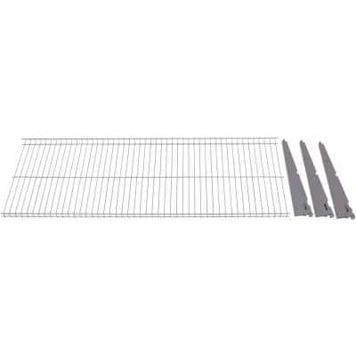 FastTrack 16 in. x 48 in. Wire Garage Wall Shelving