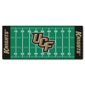University of Central Florida 3 ft. x 6 ft. Football Field Rug Runner Rug